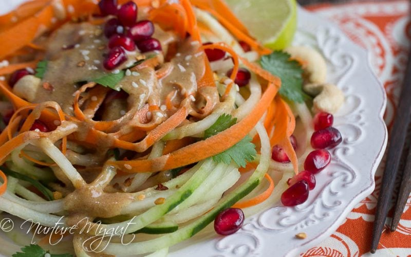 Thai Cucumber Noodle Salad