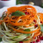 Easy Thai Cucumber Noodle Salad