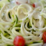 5-Minute Dreamy Vegan Alfredo Sauce with Zucchini Noodles (Zoodles)