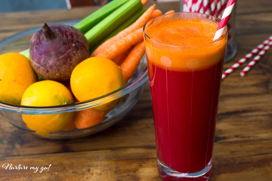 Easy Red Rocket Juice Recipe