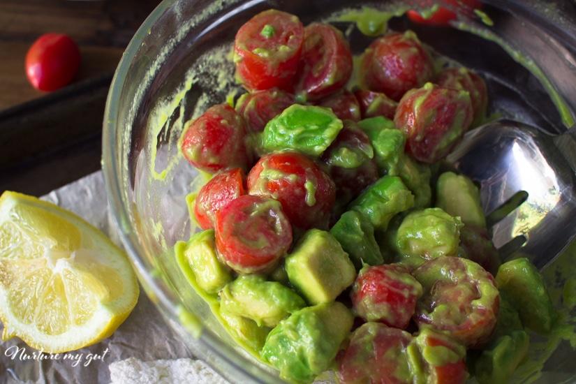 Lazy Guacamole Salad Recipe