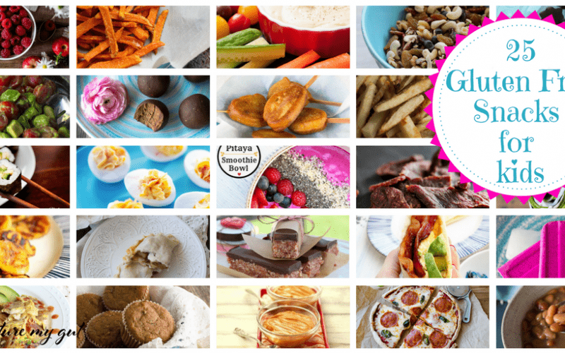 25 Gluten Free Snacks For Kids