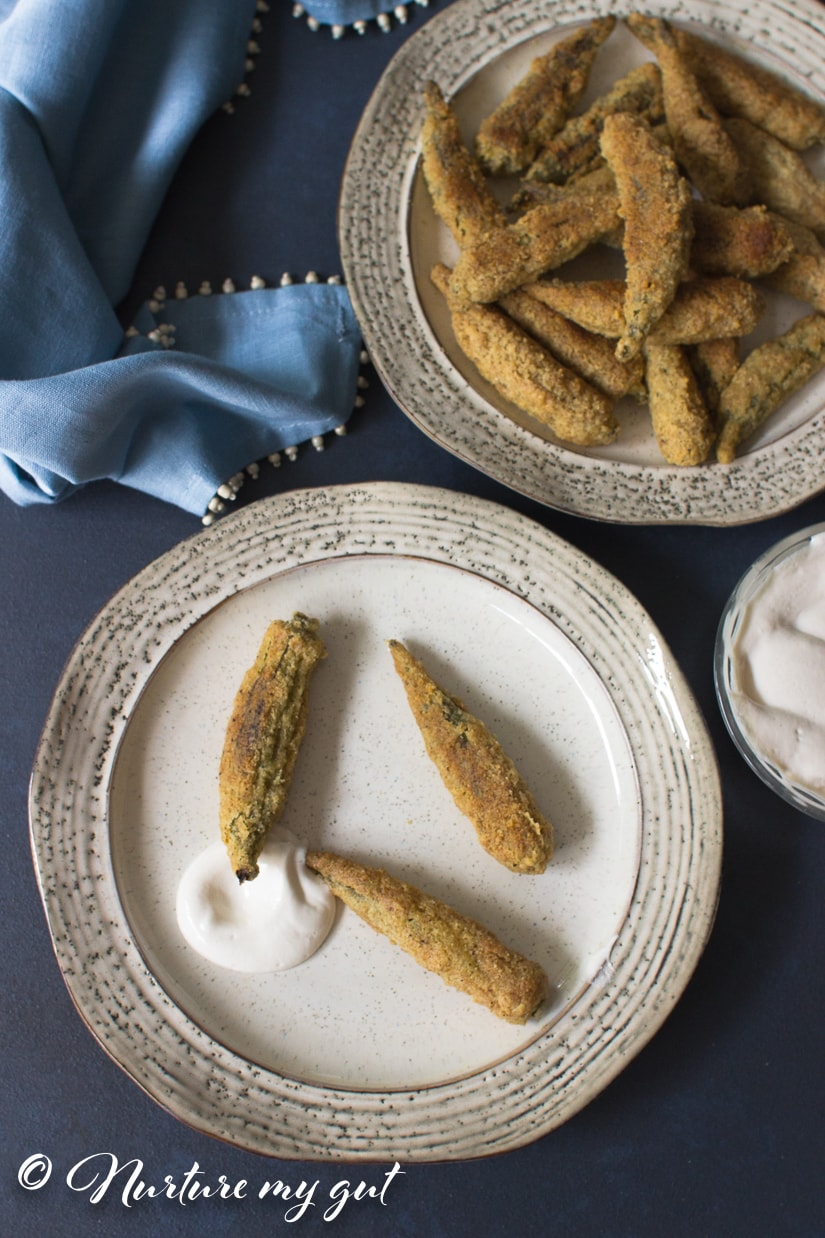 Crispy Oven Fried Okra Recipe