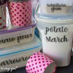Printable Gluten Free Pantry Labels