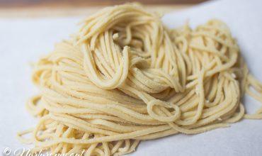 Homemade Gluten Free Pasta {Nut Free}