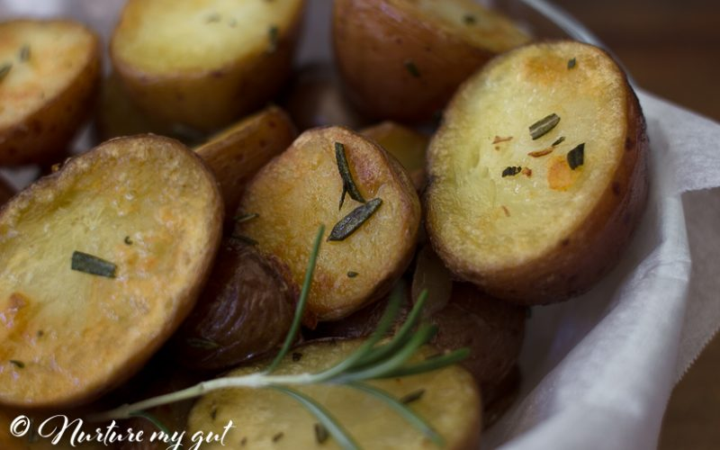 Instant Pot Crispy Rosemary Roasted Potatoes