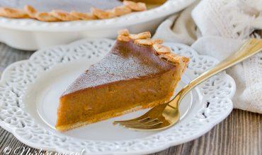 Gluten Free Dairy Free Pumpkin Pie Recipe