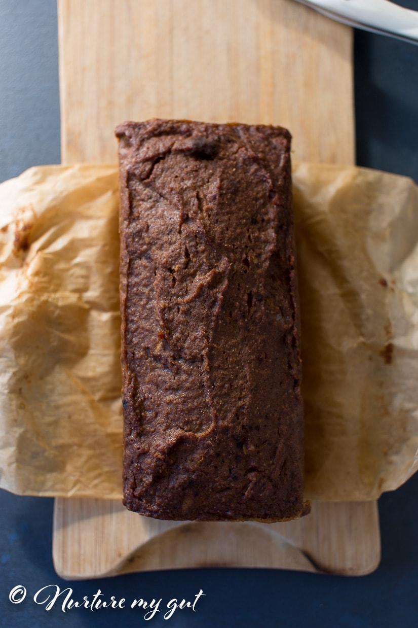 Instant Pot Paleo Cinnamon Walnut Sweet Potato Bread