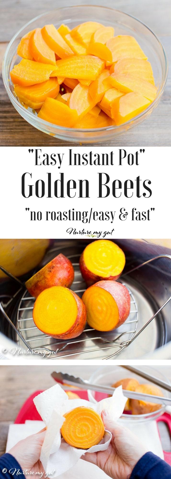 Easy Instant Pot Golden Beets