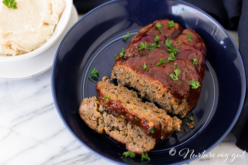 Instant Pot Gluten Free BBQ Meatloaf and Mashed Potatoes
