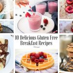 10 Delicious Gluten Free Breakfast Recipe collage