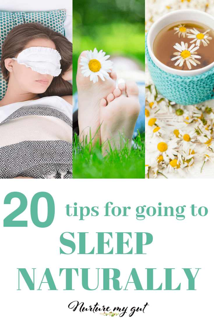 20 Tips for Getting A Good Nights Sleep Naturally