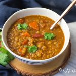 Delicious Homemade Vegan Tomato Lentil Soup Recipe
