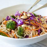 Healthy Noodle Sweet and Spicy Crunch Bowl