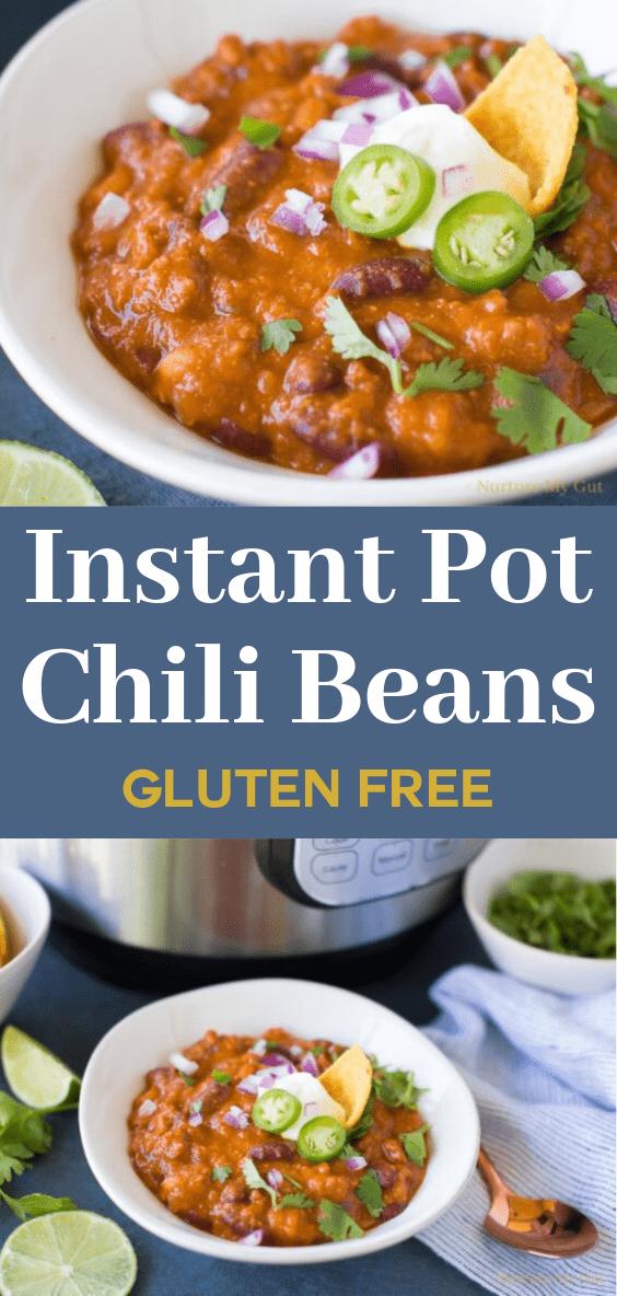 Instant Pot Chili Beans Recipe