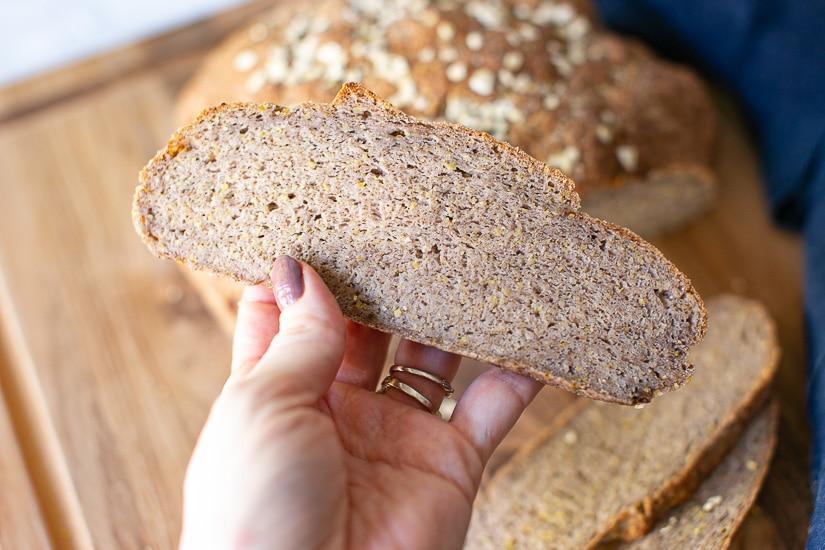 Gluten Free Vegan Bread