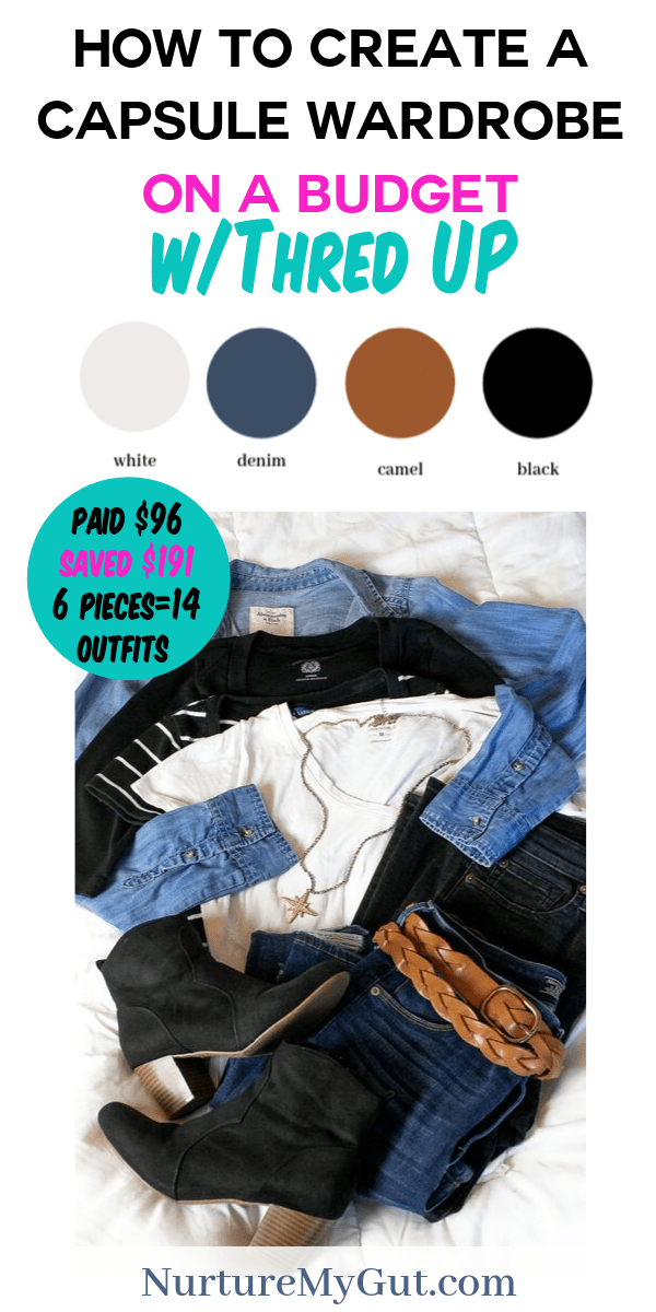How to Create a Capsule Wardrobe on A Budget through Thred UP