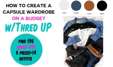 How to Create a Capsule Wardrobe on Budget with Thred Up